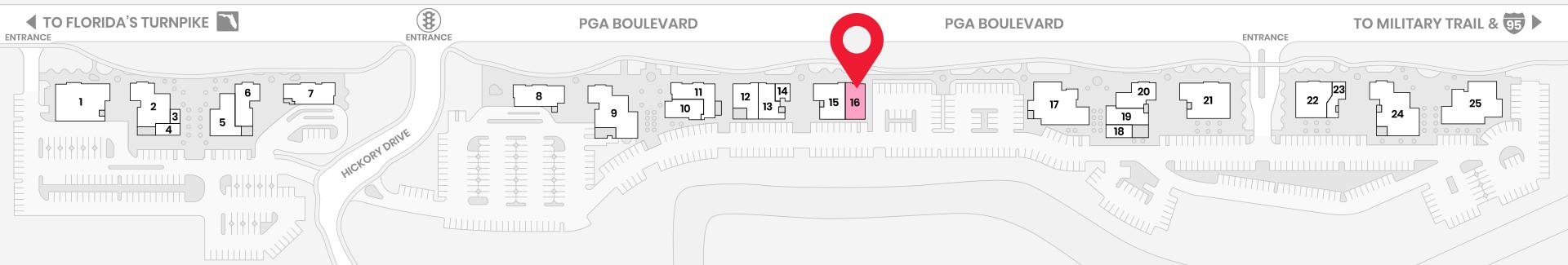 Map - Blowtox Premier Blow Dry Bar